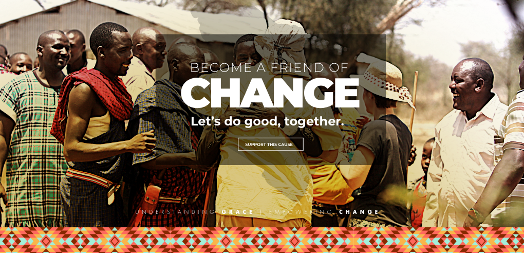 Be part of change today