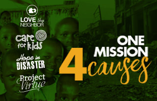One mission with four causes