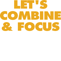 Let's combine and focus our seed to see change accelerated