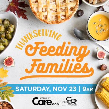 Thanksgiving Feeding Families