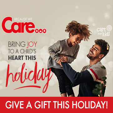 Because We Care Holiday Giving