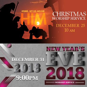 Christmas and NYE