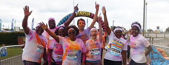 Care For Kids Color Run