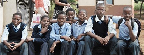 Khulumeluzulu High School Outreach, South Africa
