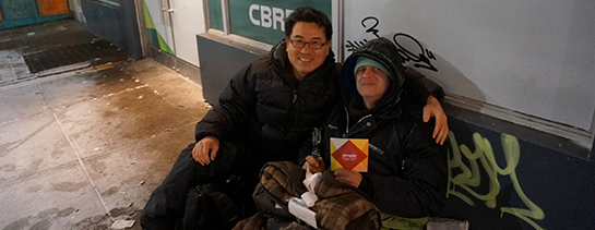 "Cold Nights in the Streets of Toronto – Ministering to the ""ONE"""