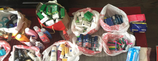 Hygiene Product Donations - Los Angeles