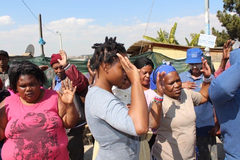 Honeydew Informal Settlement,  South Africa